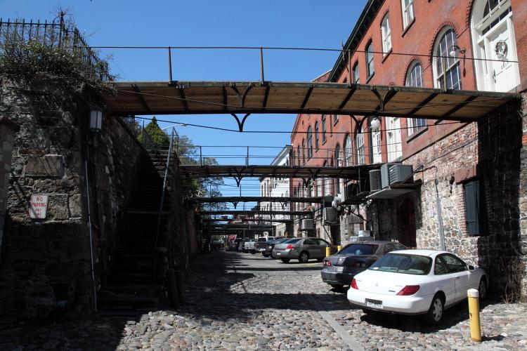 Factors Walk, Savannah, Georgia