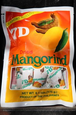 7D brand dried mangorind, American Pinoy Food Mart, Jersey City