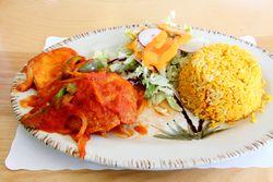 Tortas de pescado guisadas, El Vincentino, College Point, Queens