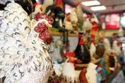Poultry statuary, The Original American Chicken, Jackson Heights, Queens