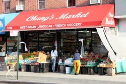 Chung's Market, %22West Indian, American, French grocery,%22 Bedford-Stuyvesant, Brooklyn