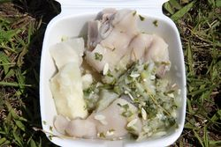 Souse with sweet potato, Barbados Festival Day, Canarsie, Brooklyn