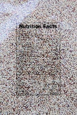 Nutrition facts, sesame soft candy, Viet Huong, Savannah, Georgia