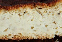 Potato knick (cutaway view), Queens Pita Bakery, Kew Gardens Hills, Queens