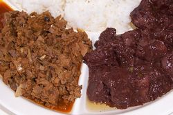 Bopis and dinuguan, The New Little Quiapo Restaurant, Jersey City