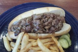 Steak tip grinder, The Barking Dog, Amesbury, Massachusetts
