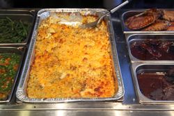 Mac 'n' cheese, Halsey Street Grill, Bedford-Stuyvesant, Brooklyn