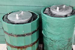 Ice tubs, DiCosmos, Elizabeth, New Jersey