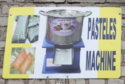 Pasteles machine, Steve's World of Store Fixtures, Longwood, Bronx