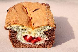 Corn-cherry-poppy babka, Old Poland Bakery, Greenpoint, Brooklyn