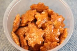 Rice crackers, Food in Postcolonial Hawai'i, Asian Pacific Institute at NYU, Washington Mews, Manhattan