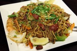 Pancit, SizzleMe Steakhouse, Woodside, Queens