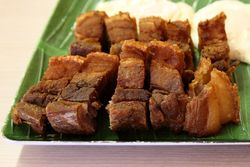 Lechon kawali, The New Little Quiapo Restaurant, Jersey City