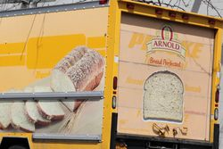 Arnold Bread delivery truck, formerly a Penske rental truck (detail), Sheepshead Bay, Brooklyn