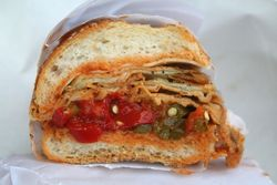 %22The Valentino,%22 Defonte's Sandwich Shop, Red Hook, Brooklyn