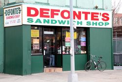 Defonte's, Red Hook, Brooklyn