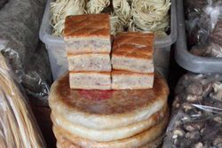 Moon cakes and more, QS Grocery, East Broadway, Manhattan