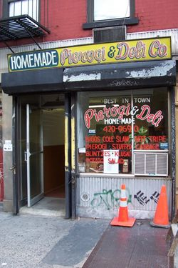 First Avenue Pierogi & Deli, First Avenue, Manhattan