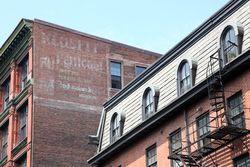 Klosfit Petticoat, surviving signage, Philadelphia