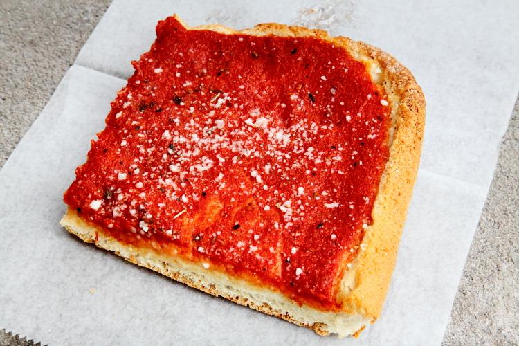 Tomato pie, Sarcone's Bakery, Philadelphia