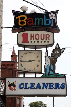 Bambi 1 Hour Cleaners, Philadelphia