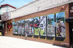 I [heart] The Bronx mural, Foxhurst, Bronx