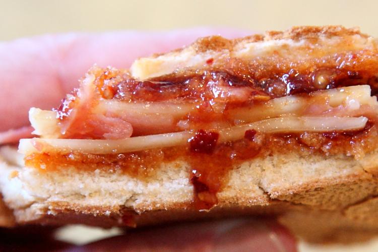 %22Meridian%22 sandwich, Cafeteria La Mejor, Bushwick, Brooklyn