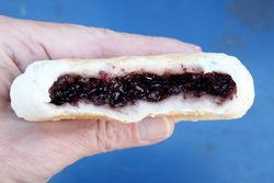 Sticky-black-rice bing, E-Pie, Flushing, Queens