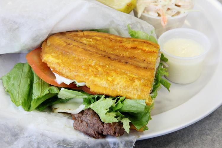 Jibarito, The Wedge Sandwich Shop, Yonkers, New York