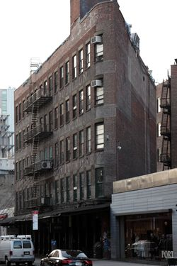 ES Burnham & Co, surviving signage, Gansevoort Street, Manhattan