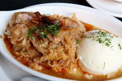 Bigos, Veselka, Second Avenue, Manhattan