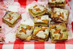 Apricot-pistachio squares, Black Currant, Ridgewood Market, Ridgewood, Queens