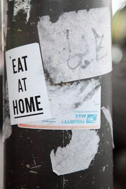 %22Eat at home,%22 Cypress Hills, Brooklyn