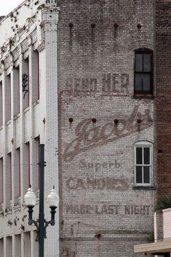 Jacobs Candies, surviving signage, New Orleans