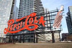 %22Pepsi-Cola,%22 Gantry Plaza, Long Island City, Queens