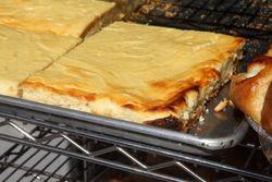 Cheesecake, Rzeszowska Bakery, Greenpoint, Brooklyn