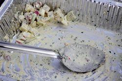 Potato salad, 110 Years of PS 110, Delancey Street, Manhattan