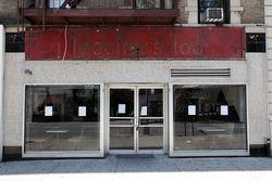 Teacher's Too, surviving signage, Broadway, Manhattan