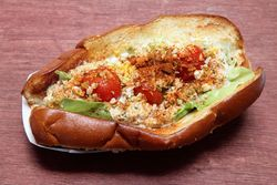 Crab Louie roll, Brine by Danny Brown, Smorgasburg Queens, Long Island City, Queens
