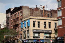 Gold Medal Flour, twin surviving signage, Eighth Avenue, Manhattan