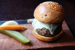Burger, The NoMad Bar, West 28th Street, Manhattan