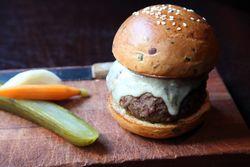 Burger, The NoMad Bar, West 28th Street, Manhattan