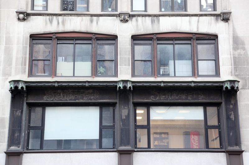 Schrafft's, surviving signage, Downtown Brooklyn