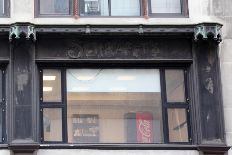 Schrafft's, surviving signage, Downtown Brooklyn