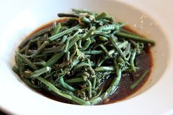 Fiddlehead fern salad, Biang, Flushing, Queens