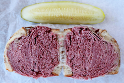 Corned beef sandwich, Slyman's Restaurant, Cleveland