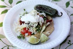 Montalayo taco, Tacos Bernardo, Maxwell Street Market, Chicago