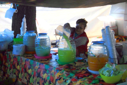 Aguas frescas, Sosa Fruits, Red Hook Ball Fields, Red Hook, Brooklyn