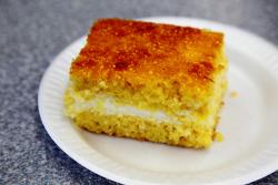 Bolo sabor vida queijo, Pao da Vida Bakery, Newark, New Jersey