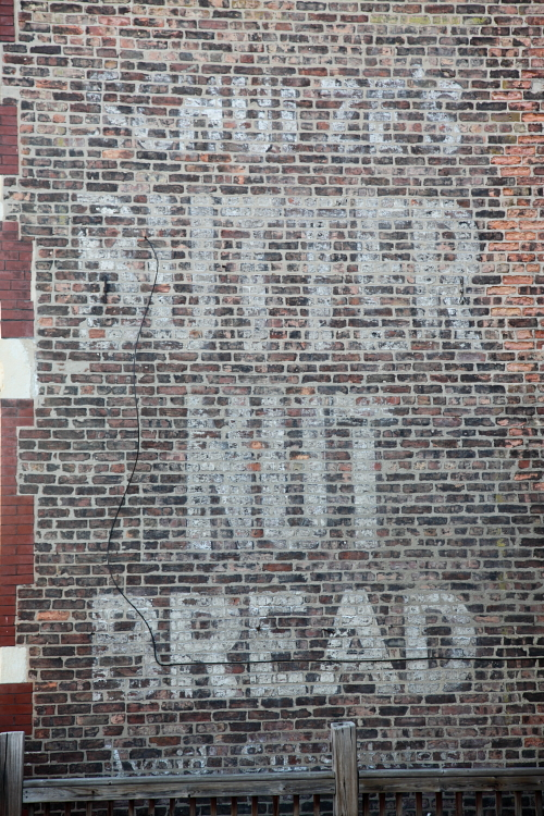 Schulze's Butter Nut Bread, avoid substitutes, surviving signage, Chicago